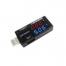 USB Current Voltage Tester Meter Detector Charger Indicator Dual-Display Current Measuring
