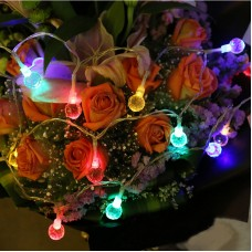 3M 20Leds LED Light String Battery Operated Crystal Bulbs for Indoor Use Party Holiday Wedding