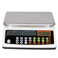110V 3kg 0.1g Commercial Digital Scale Baking Electronic Scale 6.6lb/0.0002lb High Precision Food Weight Balance