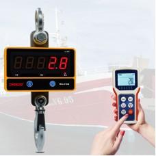 Digital Crane Scale 500KG /1100 LBS Heavy Duty Industrial Hanging Scale 100M Remote Control