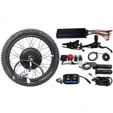 RisunMotor 36V 48V 60V 72V 3000W eBike Conversion Kits Motor Wheel Kits with Customized Display