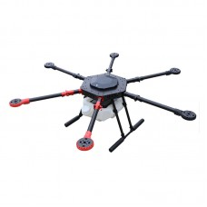 10L Electronic Agricultural Drone Six 6 Axis Multicopter UAV Drone 1400mm with Auto/Semi-auto Spraying System for Farming