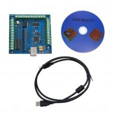 MACH3 4-Axis USB CNC Controller Card Smooth Stepper Motion Control for CNC Engraving 12-24V 100KHz