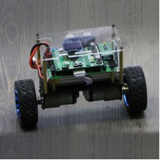 RC Balance Car Chassis 2WD w/ Hall Encoder 66MM Wheel STM32F103RCT6 Controller Board