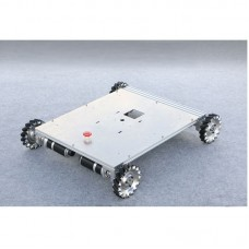 4WD RC Car Chassis 152mm Wheel Max. Load 60kg 100W Photoelectric Encoder Planetary Geared Motor