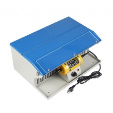Polishing Buffing Machine Dust Collector Table Top w/ Light Jewelry Polisher