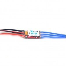 XC-10A RC Hobby Brushless ESC 10A 1-2S 8g Electronic Speed Controller Dual-way Forward Reverse Brake modes