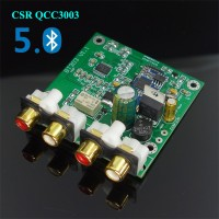 CSR QCC3003 Bluetooth 5.0 Audio Receiver Board with DAC Decoding Analog IN/OUT