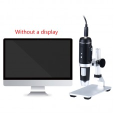 USB 2.0 Handheld Digital Microscope HD 5MP 1080P for Circuit Board Antique Cloth Detection H2
