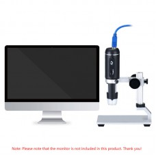 USB 3.0 Handheld Digital Microscope HD 5MP 1080P 8 LEDs for Circuit Board Antique Detection H3