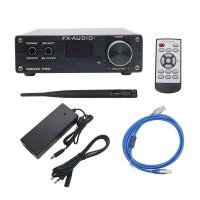 Pure Digital Amplifier Bluetooth Amp 4.2AUX Input Support APTX NFC USB/AUX/Optical/Coaxial D802C PRO