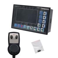 DDCSV2.1 CNC 4-Axis Motion Controller Stepper Motor Driver + Standard Handwheel MPG Emergency Stop