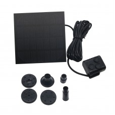 Solar Water Panel Power Fountain Pump Kit Pool Garden Pond Submersible Watering