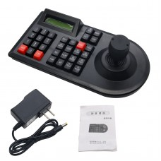 3D PTZ CCTV Keyboard Controller Joystick for RS485 PTZ Speed Dome Camera Bracket Support Pelco-D / P protocol 3 Axis