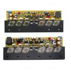 One Pair KSA50 MarkII Class A Power Amplifier Board 50W+50W With MJ15025  MJE15035