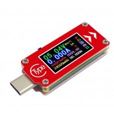 2018 RD TC64 Type-C USB Tester Voltage Current Meter PD Charger Voltmeter Tester