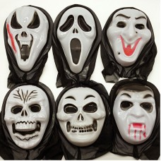 Scream Halloween Mask Halloween Ghost Mask Monster Cosplay for Party Toys