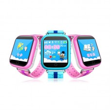GPS Smart Watch for Kids Q10 with 1.54Inch Touch Screen SOS Call Location Device Tracker