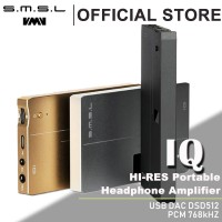 IQ Portable Headphone Amplifier DAC XMOS USB DSD512 DAC Balanced Output Headphone Amp