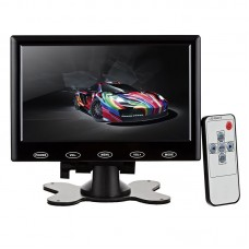 TFT HD LCD Monitor Display 7 Inch Screen / VGA / HDMI / AV / Audio for PC Car FPV DVD