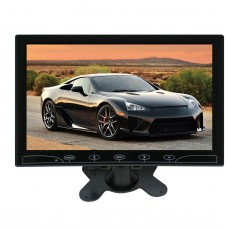 HD LED Display Monitor 10.1 Inch Screen HDMI + VGA + AV for PC Car FPV DVD 1024*600
