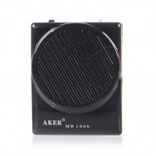Aker MR1506 Voice Booster Rechargeable Voice Amplifier 10W AMP Speaker for Coachers