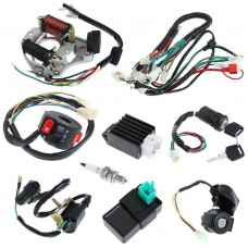 ATV Wiring Harness CDI Assembly Wiring Kit for ATV Electric QUAD 50 70 90 110CC