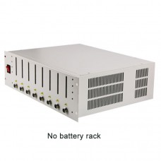 EBC-X 8 Channels 18650 Battery Capacity Tester with Battery Holder Charge & Discharge 10A Aging Test