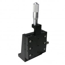 80*80mm Z Axis Manual Displacement Platform Vertical Fine Adjustment Sliding Table CZSJ-Z80-C