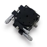 60*60mm XYR 3Axis Manual Displacement Platform High Precision Sliding Table XYR60-L