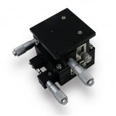 60*60mm XYZ Axis Manual Displacement Platform High Precision Sliding Table XYZ60-L