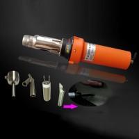 2000W Hot Air Welder Gun Plastic Welding Gun Tools Set with Round Nozzle Speed Welding Nozzle