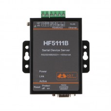 3-In-1 Serial Server RS232/ RS 485/ RS422 Serial to Ethernet Free RTOS Serial Server HF5111B