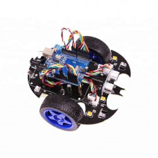 Smart Car Kit Arduino Robot Car Kit Wireless Control DIY Learning Toys without Controller Board
