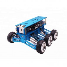 6WD Robot Car Kit Programmable Educational Starter Kit for Arduino without Controller Board