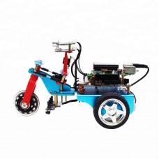 3WD Smart Robot Car Kit Programming w/HD Camera for Raspberry Pi 3B+ without Controller Board