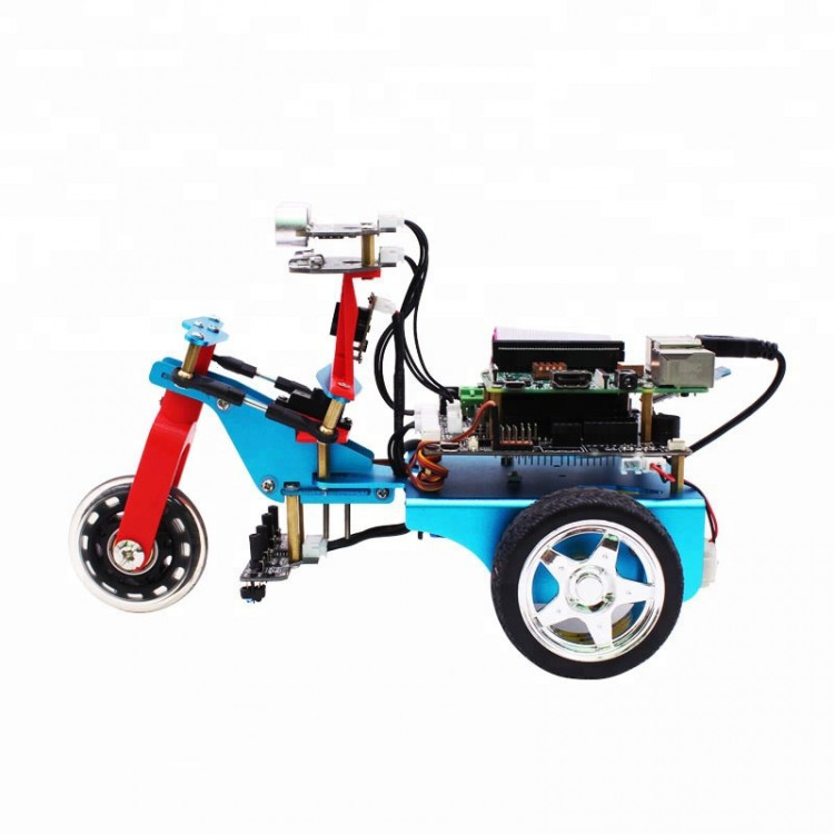 3WD Smart Robot Car Kit Programming w/HD Camera for