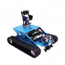 WiFi Robot Car Robot Tank Car Kit Aluminum Alloy w/Camera for Raspberry PI without Controller Board