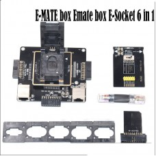 E-MATE box Emate box E-Socket 6 in 1 No Welding eMMC Repair Adapter kit