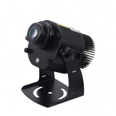 20W Gobo Light LED Logo Projector Light Outdoor Waterproof IP65 Rotating Image + Remote Control