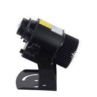80W Gobo Light LED Logo Projector Light Outdoor Waterproof IP65 Rotating Image + Remote Control