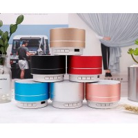 A10 Portable Bluetooth Wireless Speaker Mini Metal Speaker Chargeable with LED Light