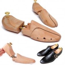 Adjustable Unisex Men Women Cedar Wood Boot Shoe Tree Stretcher Sharper Keeper
