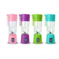 380ml Mini Blender Juice Cup Portable Juice Maker Rechargeable via USB Charging Port
