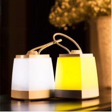 LED Dimmable Night Light Lantern Lamp USB Charging Type Optional Light Color Indoor Outdoor