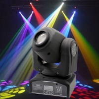 4-Pack 60W RGBW Stage Light LED Spot Moving Head Lights DMX Disco DJ Party Lighting