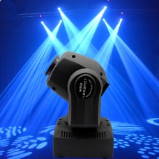 2PCS 60W RGBW Stage Light LED Spot Moving Head Lights DMX Disco DJ Party Lighting