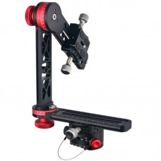 PH-720A 720Deg Panoramic Gimbal Tripod Ballhead Quick Release Plate For DSLR Camera