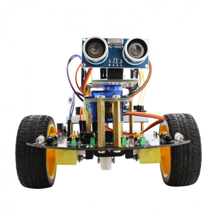 Smart Robot Car Kit with UNO Main Board +Bluetooth Module +
