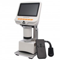 Digital Microscope 4.3Inch Screen X600 USB Video Microscope for Jewelry Appraisal Biologic AD105S